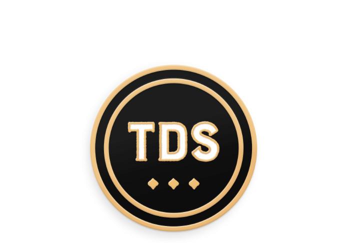 TDS Lapel Pin